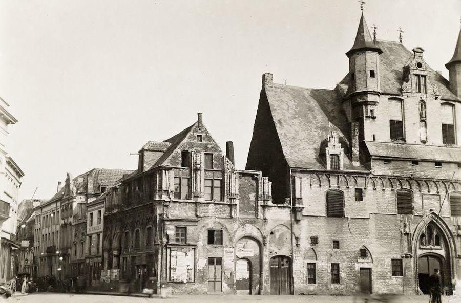 Mechels Stadhuis 1914