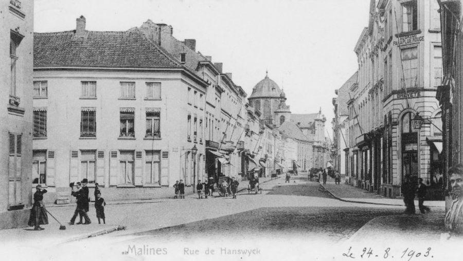 Vijfhoek - Hanswijkstraat